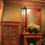 Зелёный кабинет в особняке А. Ф. Кельха