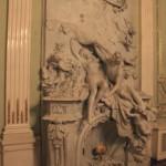Скульптурная группа в Танцевальном зале особняка А. Ф. Кельха
