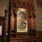 Витраж в Готической столовой особняка А. Ф. Кельха