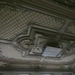 Плафон зала в доме Г. П. Елисеева