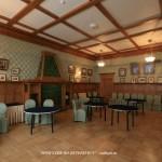 Дубовая столовая в особняке В. С. Кочубея