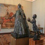 Статуя Анны Иоанновны с арапчонком