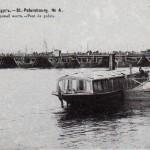 Нева, Дворцовый понтонный мост