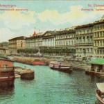 Фонтанка от Аничкова моста к Неве