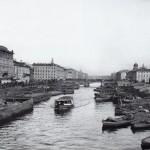 Перспектива реки Фонтанки от Симеоновского моста к Невскому проспекту