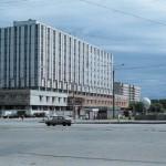 Новое здание метрополитена - инженерный корпус (Дом связи)