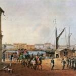 Английская набережная с Васильевского острова (I часть)
