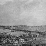 Вид Набережной Невы от домика Петра I