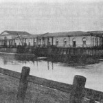 Амбары Сального буяна. Вид с восточной стороны