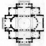 Знаменская церковь. План