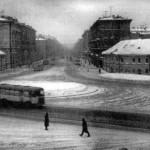 Площадь Александра Невского в 1960-х гг.