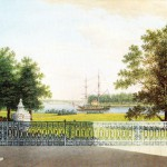 Вид терассы Елагина дворца
