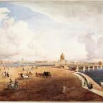 Панорама Петербурга с Васильевского острова