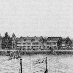 Дома на Петровской набережной