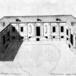 Деревянный дом Меншикова на Васильевском острове