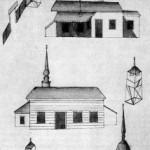 Церкви Св. Сампсона, Св. Иосифа Древодела и Св. Симеона Богоприимца (сверху вниз)