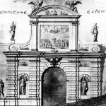 Петровские ворота Петропавловской крепости