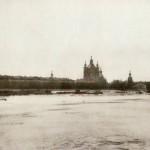 Панорама Невы у Смольного монастыря
