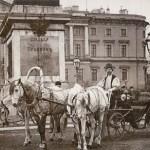 Извозчики у Михайловского (Инженерного) замка