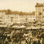 Предпасхальный торг на Покровской площади 28 марта 1914 года