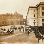 Парад на Дворцовой площади 28 апреля 1904 года