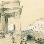 Казанский собор со стороны Екатерининского канала