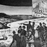 Петербуржцы в здании панорамы на Екатерининском канале