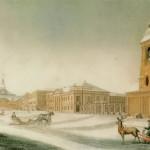 Вид Арсенала и Литейного двора на Литейном проспекте