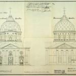 Сергиевский всей артиллерии собор. Западный фасад