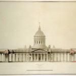Казанский собор; фасад с западной стороны