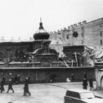 Церковь Успения Пресвятой Богородицы (Спасо-Сенновская) после взрыва