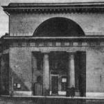 Здание Императорских конюшен. Правое крыло
