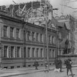 Перестройка Никифоровского подворья на Московской улице в Володарском районе под магазины ТПО Пролетарского завода
