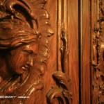 Фрагмент двери в парадном кабинете
