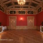 Красный зал в особняке М. В. Кочубея