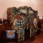 Камин в Кабинете дома Ф. Г. Бажанова