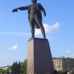 Памятник В. И. Ленину на Московской площади