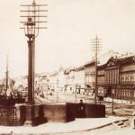 Николаевский мост и вид на Английскую набережную