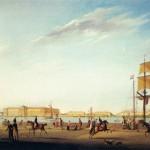 Вид на Академию художеств и Кадетский корпус