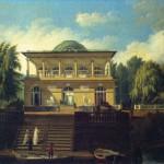 Вид на Строгановскую дачу в Петербурге