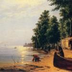 Вид на Лахте под Петербургом