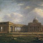 Вид на Казанский собор с западной стороны