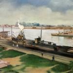 Строительство Володарского моста