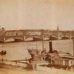 Вид на Неву и Николаевский мост