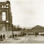 Кожевенная линия. Территория Балтийского судостроительного завода
