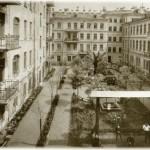 Общий вид двора дома С. Х. Мельцера