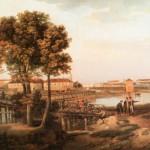 Вид с Петровского острова в Петербурге
