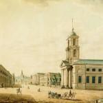Вид Литейного проспекта от Сергиевского собора к Литейному двору