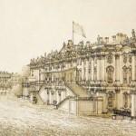 Дворцовая площадь в день открытия Александровской колонны 30 августа 1834 года