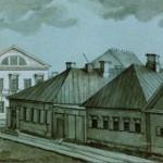 Вид Первой Госпитальной улицы у пересечения с Ново-Сампсониевским проспектом на Выборгской стороне